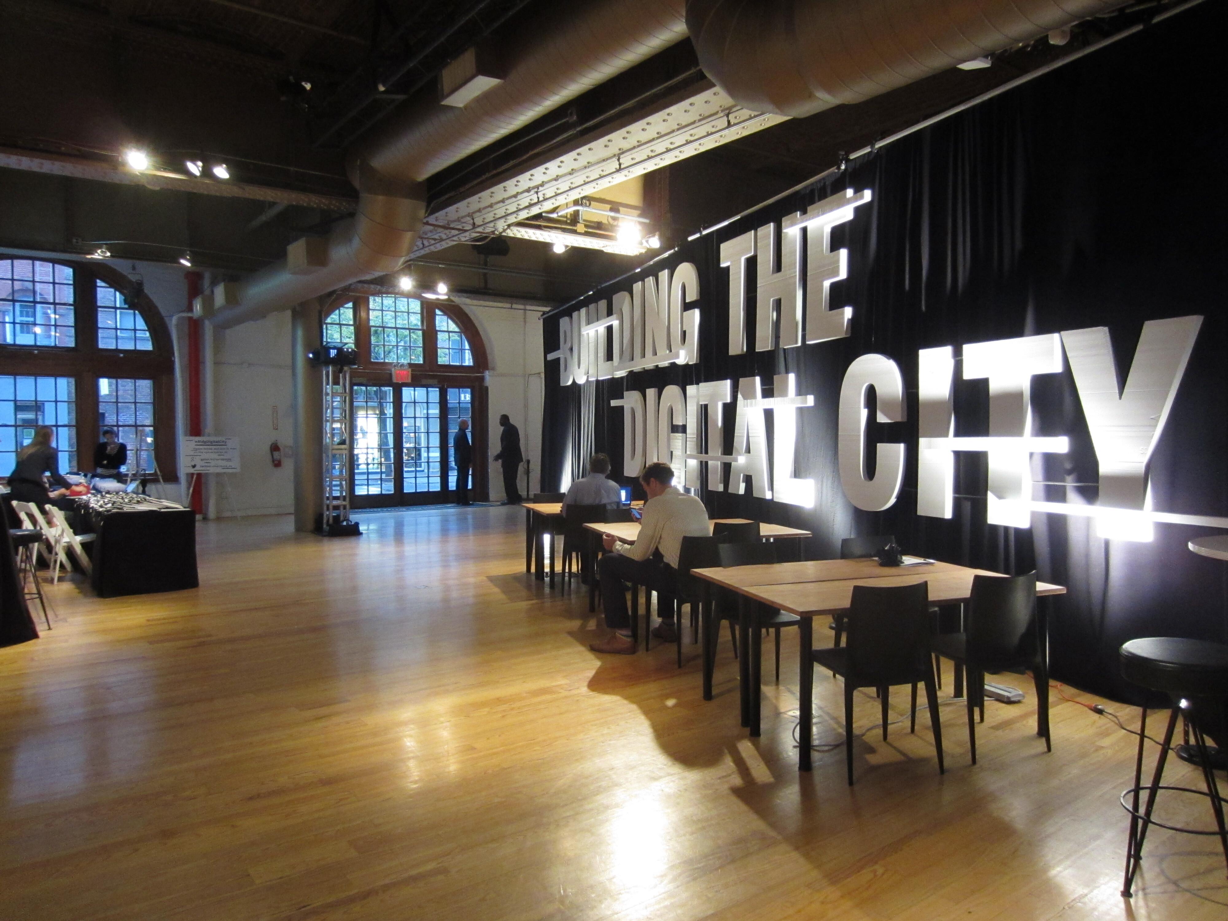 Building the Digital City
